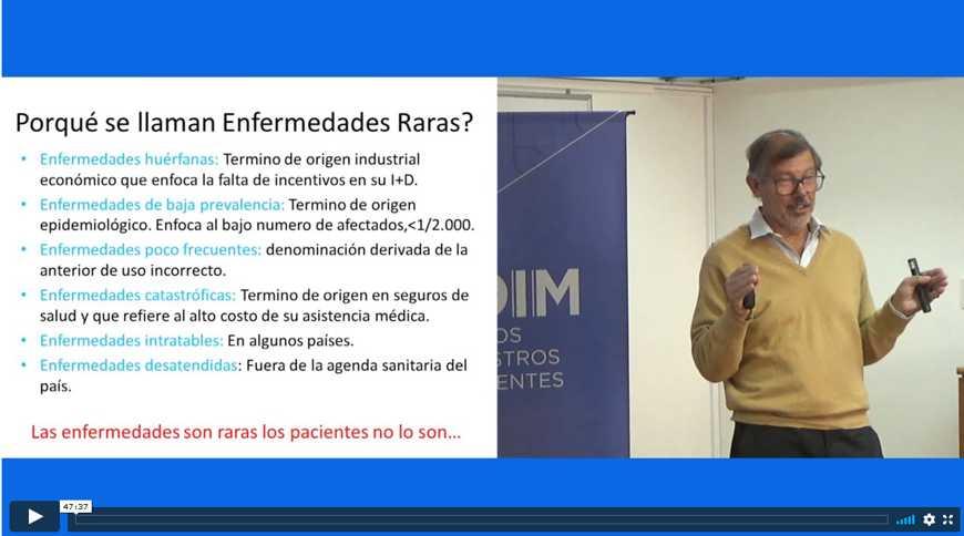 Enfermedades raras por el Dr. Emilio Roldán